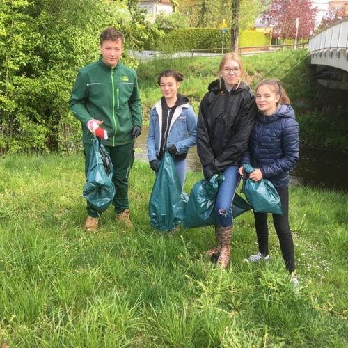 Bild zum Weblog Unterwegs für mehr Sauberkeit in Klagenfurt