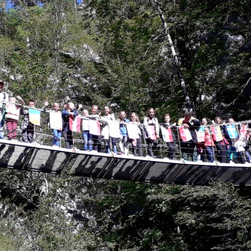 Bild zum Weblog Schulausflug zur Tscheppaschlucht