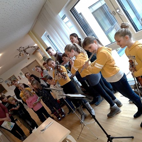 Bild zum Weblog Besuch im Haus Harbach - Diakonie de La Tour