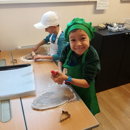 Bild zum Weblog Eigene Lebkuchenkekse in der VS
