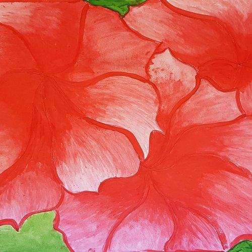 Bild zum Weblog Einblick Schulalltag MS - Kunstunterricht
