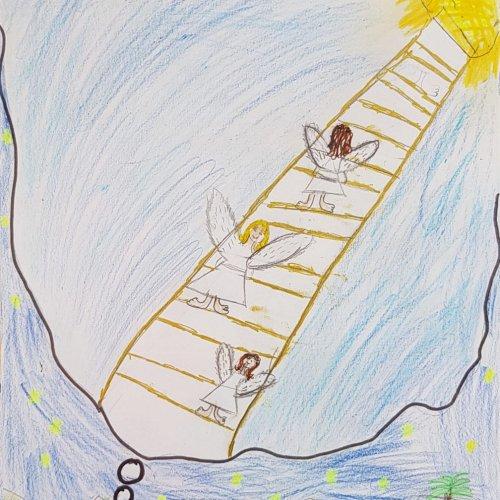 Bild zum Weblog 4. VS Kunst - Jakob und die Himmelsleiter