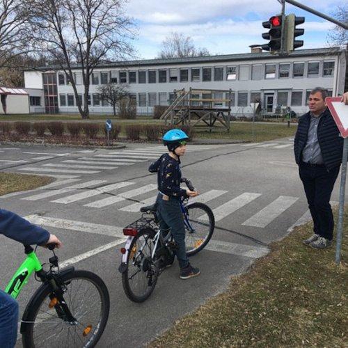 Bild zum Weblog Fahrradprüfung der 4. VS