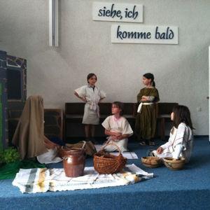 Bild zum Weblog Musicalvorbereitungen