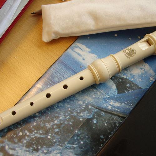 Bild zum Weblog Flötenunterricht in der Volksschule