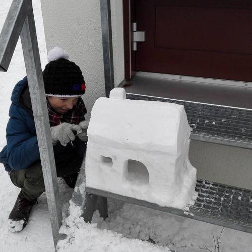 Bild zum Weblog Kreativer Schwerpunkt: Schneeskulpturen